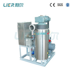 Flow Slurry Ice Machine for Fishery, Seafood Trawlers 2.5t/Day
