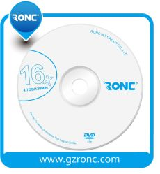 Ronc Wholesale Blank DVD-R OEM Logo Factory Price Blank DVD