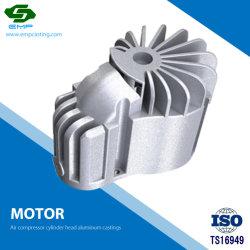 CNC Machining Aluminum Motor Housing