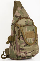 Outdoor Sports Camouflage Single Shoulder Cycing Tactical Assault Military Army Fan Chest Bag (CY3620)