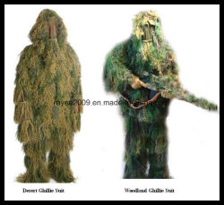 3D Hunting Ghillie Suit Fire Proof Anti Infrared Camouflage Clothing