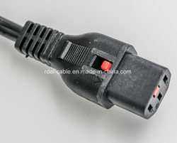 C13 / C14 IEC Power Cord Male Female Wire Connector/C13to C14 Power Extension Cable IEC 60227 RV 300V/500V
