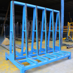 Glass Rack A Shape Shelf Storage and Transport All-in-One for Glass Factory