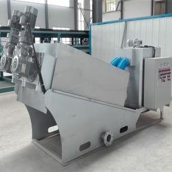Slurry Dewatering Machine for Slaughter House Sludge Treatment