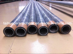 High Abrasion and Corrosion Resistant Ceramic Lined EPDM Hose for Sand Blasting