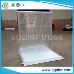 Muti Functional Metal Barrier for Stage Fold up Barrier for Temporary Fence