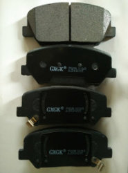 Rear Brake Pads for Chevrolet Nubira Estate 2005/01-
