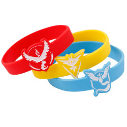 Bangles Jewelry Type and Children's Gender Motivational Silicone Wristbands