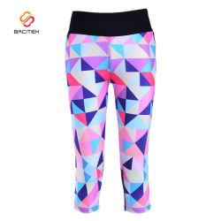 b48818f46db3b Women Wholesale Colorful Fitness Sports Capri Pattern Tights Pants Yoga  Leggings