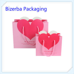 Paper Carry Printing Bag Wholesales with Silk Handle