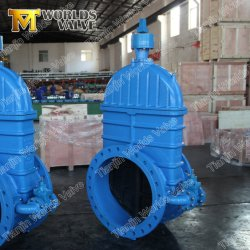 China Manufacturer Rubber Solid Encapsulated Wedge Nrs Resilient Seat Slurry Knife Gate Valve Pn10/Pn16/Cl150/Pn25 Wras Approved for Drinking Water