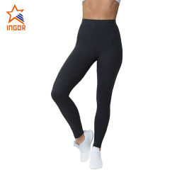 Custom High Waist Workout Tights Women Gym Wear Sports Yoga Pants Fitness Leggings with Phone Pockets