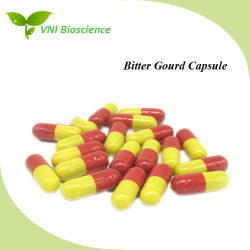 ISO SGS Certified Bitter Gourd Capsule/Momordica Charantia Capsule with Hypoglycemic Effect