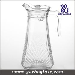 High Quality 1.5L Glass Pitcher /Glass Jug for Water Drinking for Home Using (GB1110HY)