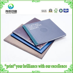 Customized Hard Cover Paper Book Printing Stationery / Catalog