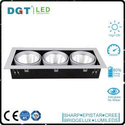 Triple Heads 3*30W LED Grille Spotlight