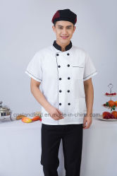 Comfortable Double Buttons Reataurant Hotel Chef Coat or Cook Jacket