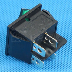 15A 220VAC Light Rocker Electric Switch (KCD2-201N)