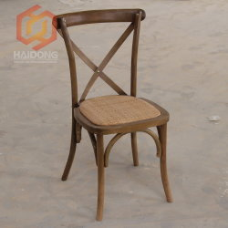 Garden Stackable Oak Beech Wood Vineyard Cross Back Dining Chair & China Cross Back Chair Cross Back Chair Manufacturers Suppliers ...