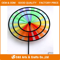 Wholesale Decoration Polyester Toy Windmill