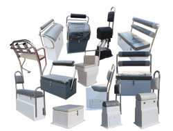 Aqualand Rigid Inflatable Boat/Rib Boat / Marine Chair Seat (FC-1)