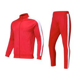 Athletic Sportwear Unisex Tricot Fleece Tracksuit with Custom Logo