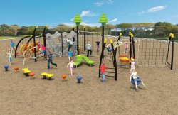 Rope Climbing Outdoor Sports Items for Children (TY-1601)