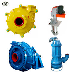 Naipu China Factory Mining Submersible Vertical Horizontal Slurry Pumps