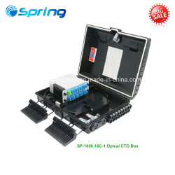 Spring Optical FTTH 16 Ports Waterproof Optical Fiber Distribution Box