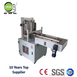 Semi-Automatic Hot Melt Glue Tissue Carton Box Sealing Machine