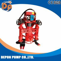 Diesel Motor Hydraulic Submersible Sand Slurry Pump with Agitator