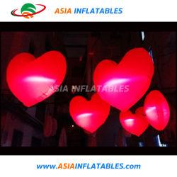 Wedding Valentine Event Decoration Inflatable LED Heart