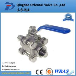 Stainless Steel Full Size Wholesale Free Samples Brass Ball Valve Good Price