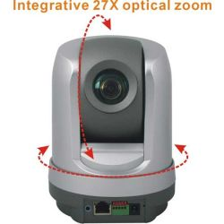 27X Optical Zoom WiFi H. 264 Dome PTZ IP Camera for Indoor Home Security (IP-109HW)