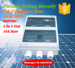 Best Price Economical Model 5 Input 2 Output DC Combiner Box for 400V DC System