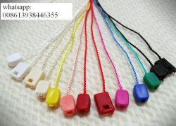 Factory Provided Small Garment Plastic Etiquetas Seal String Waxing Hang Tag (By7260)