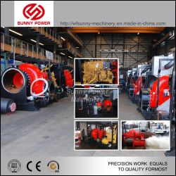 20-24-30 Inches Gear Built-in Sand Gravel Dredger Pump / Dredging/Dredge Slurry Centrifugal Water Pump