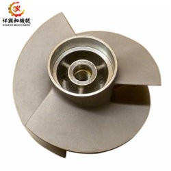 Custom Pump Parts Brass/ Steel Sand Casting Impeller with Machining