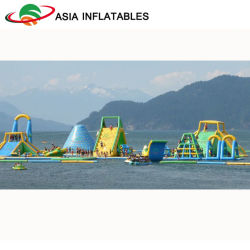 Huge Inflatable Water Park Inflatable Floating Ocean Park for Water Game