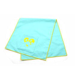 Custom Absorbent Microfiber Logo Printed Pet Drying Towels Product