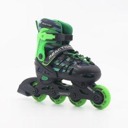 Hardboot Adjustable Inline Skate, Inline Roller Skates for Boys&Girls En13843: 2009