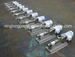 Screw Pump From Manufacturer Used in Oil Field / Tomato Ketchup / Chemical Polymer / Coal Water Slurry / Wastewater Sewage/ Dewatered Sludge / Caramel
