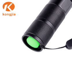 10W Ultra Bright Aluminum Alloy Rechargeable Tactical Light LED Flashlight