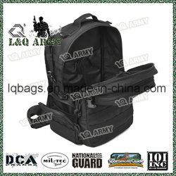 Black Military Tactical Backpack Army Assault Pack for Outdoor Sport