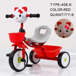 Manufacturer Wholesale High Quality Best Price Hot Sale Child Tricycle/Baby Pedal Cars for Kids/Kids Tricycle Bt-24