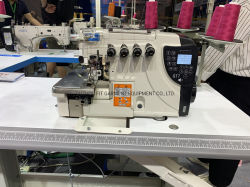 New Model Computerized/Direct Drive Overlock Sewing Machine (FIT-GT7)