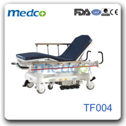 Five Functions Luxurious Hydraulic Stretcher Hospital Transfer Trolley/Cart with CPR