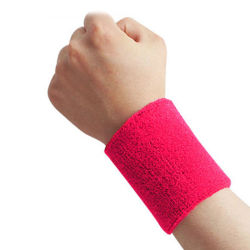 Factory Promotion Gift Cotton Sport Sweat Wristband (YH-SW007)