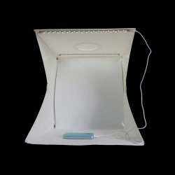 9 Inch 12 Inch 16 Inch Photo Studio Mini Folding Portable Photography Light Room Button Design Portable Photography Studio Two LED Strips 4 Backgrounds