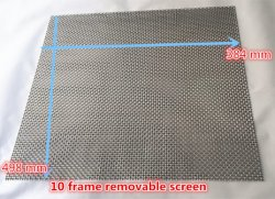 Stainless Steel Wire Mesh as Beekeeping Mesh Screen for 8/10 Frame Screened Bottom Board